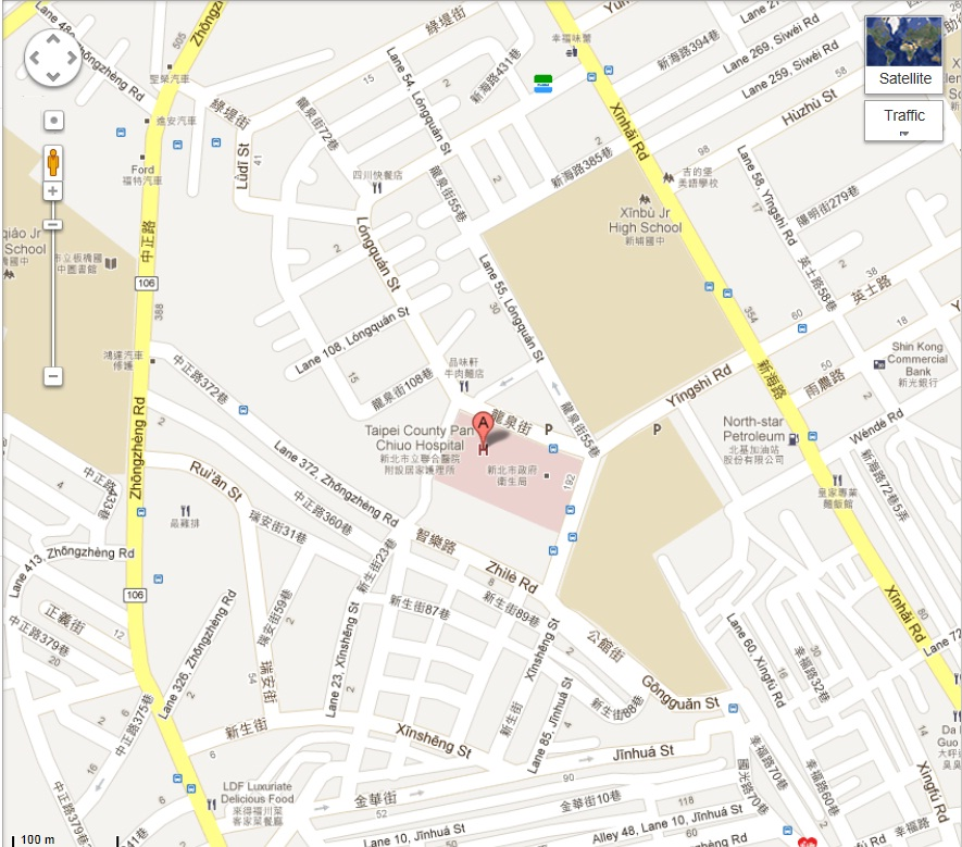 Banciao Branch English map and directions